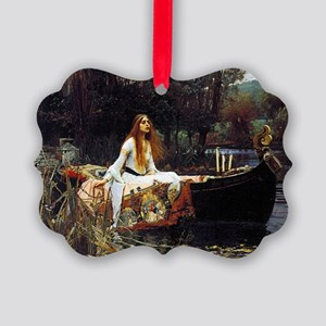 The Lady Of Shalott Picture Ornament