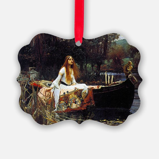 The Lady Of Shalott Ornament
