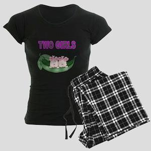 TWO GIRLS IN POD Pajamas