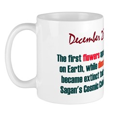 Mug: First flowers appeared on Earth, while dinosa