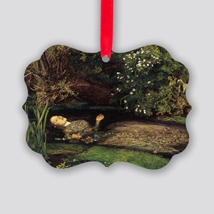 Millais Ophelia Picture Ornament