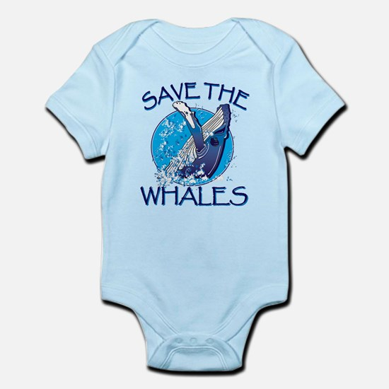 Save the Whales Body Suit