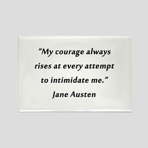 Austen - Courage Always Rises Magnets