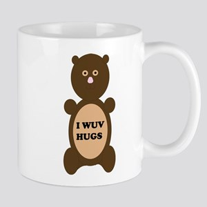 I WUV HUGS Mug