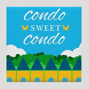 Condo Sweet Condo Tile Coaster