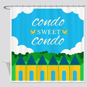 Condo Sweet Condo Shower Curtain