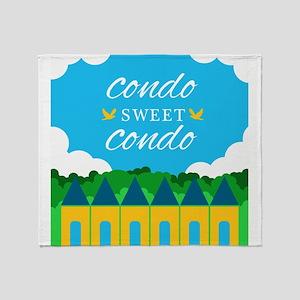Condo Sweet Condo Throw Blanket