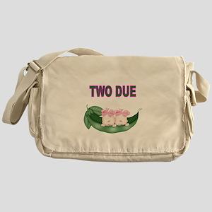DOUBLE BLESSING-TWIN GIRLS Messenger Bag
