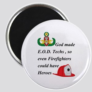 EOD - Firefighter hero Magnet