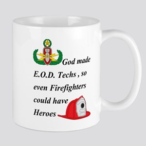 EOD - Firefighter hero Mug