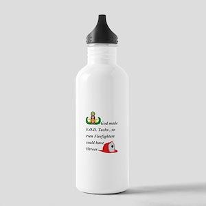 EOD - Firefighter hero Stainless Water Bottle 1.0L