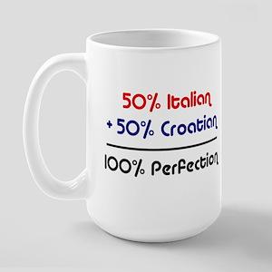 Italian & Croatian Large Mug