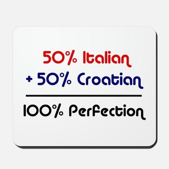 Italian & Croatian Mousepad