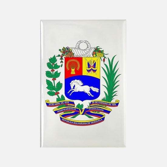 Venezuela COA Rectangle Magnet