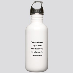 Austen - Say or Think Water Bottle