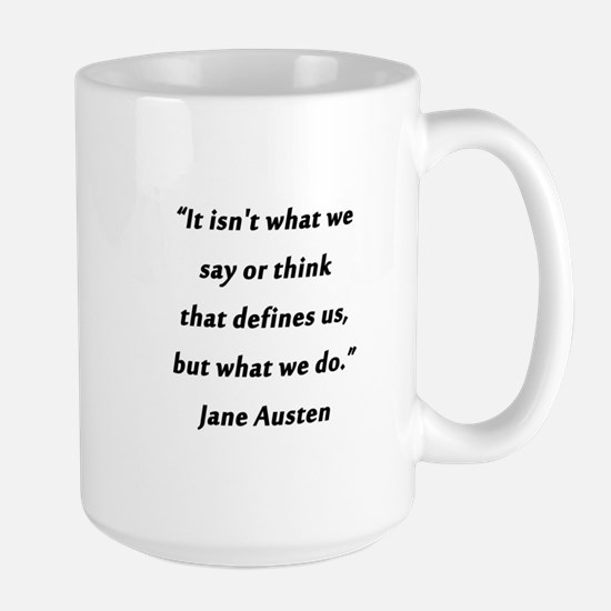Austen - Say or Think Mugs