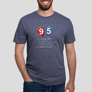 95 Already ? I demand a rec Mens Tri-blend T-Shirt