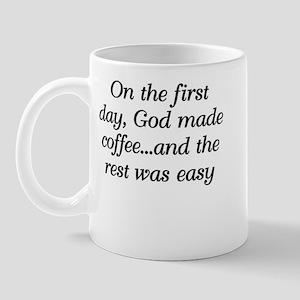 God made coffee Mug