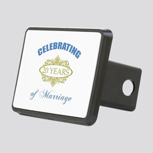 Celebrating 20 Years Of Marriage Rectangular Hitch