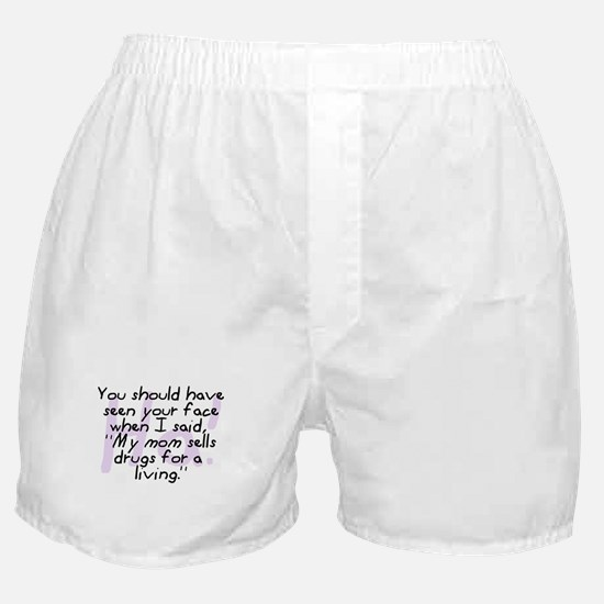 Mom Sells Drugs Boxer Shorts
