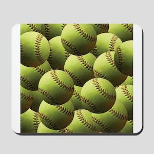 Softball Wallpaper Mousepad