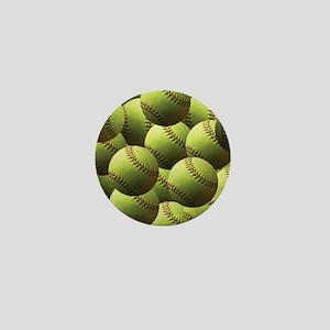 Softball Wallpaper Mini Button