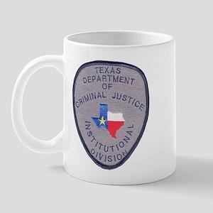 Texas Prison Mug