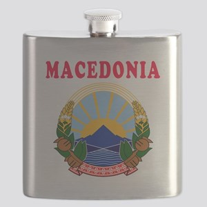 Macedonia Coat Of Arms Designs Flask
