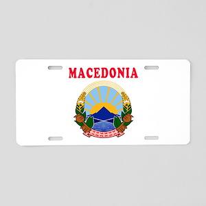 Macedonia Coat Of Arms Designs Aluminum License Pl