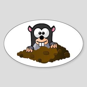 Cartoon Gopher Sticker