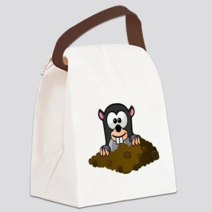 Cartoon Gopher Canvas Lunch Bag