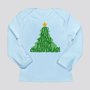 It's My First Christmas Long Sleeve Infant T-Shirt