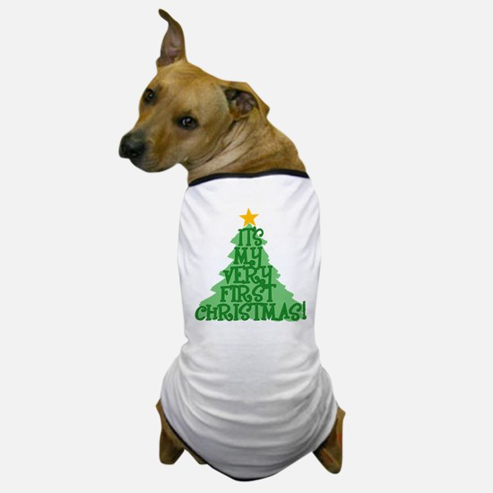 It's My First Christmas Dog T-Shirt