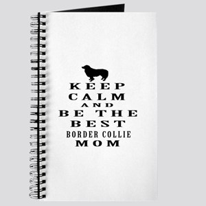 Keep Calm Border Collie Designs Journal