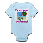 I'm All About Gardening Infant Bodysuit