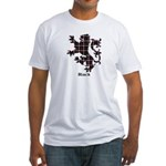 Lion - Black Fitted T-Shirt