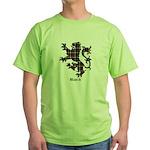 Lion - Black Green T-Shirt