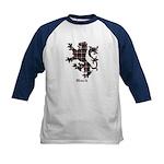 Lion - Black Kids Baseball Jersey