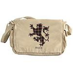 Lion - Black Messenger Bag