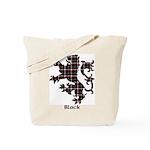 Lion - Black Tote Bag