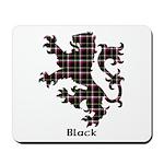 Lion - Black Mousepad