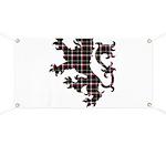 Lion - Black Banner