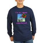 Love to Garden Navy Blue Long Sleeve T