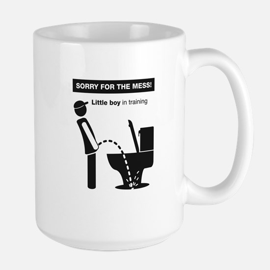 Lil' Piss'r  Large Mug