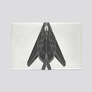 Lockheed F-117 Nighthawk Rectangle Magnet