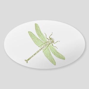 Mint Dragonfly Sticker