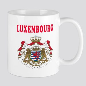 Luxembourg Coat Of Arms Designs Mug