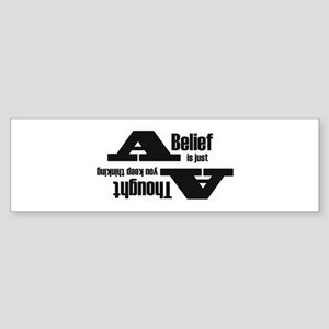 Belief4 Bumper Sticker