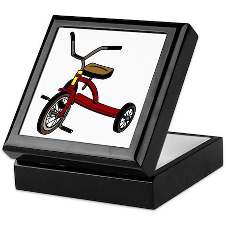 Tricycle Keepsake Box