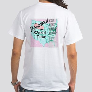 Poppytrail World Tour White T-Shirt